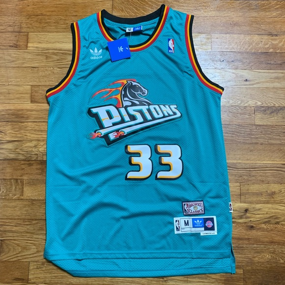 low cost bb2d2 398a1 NWT Grant Hill Detroit Pistons NBA Jersey 🔥🔥🔥 NWT